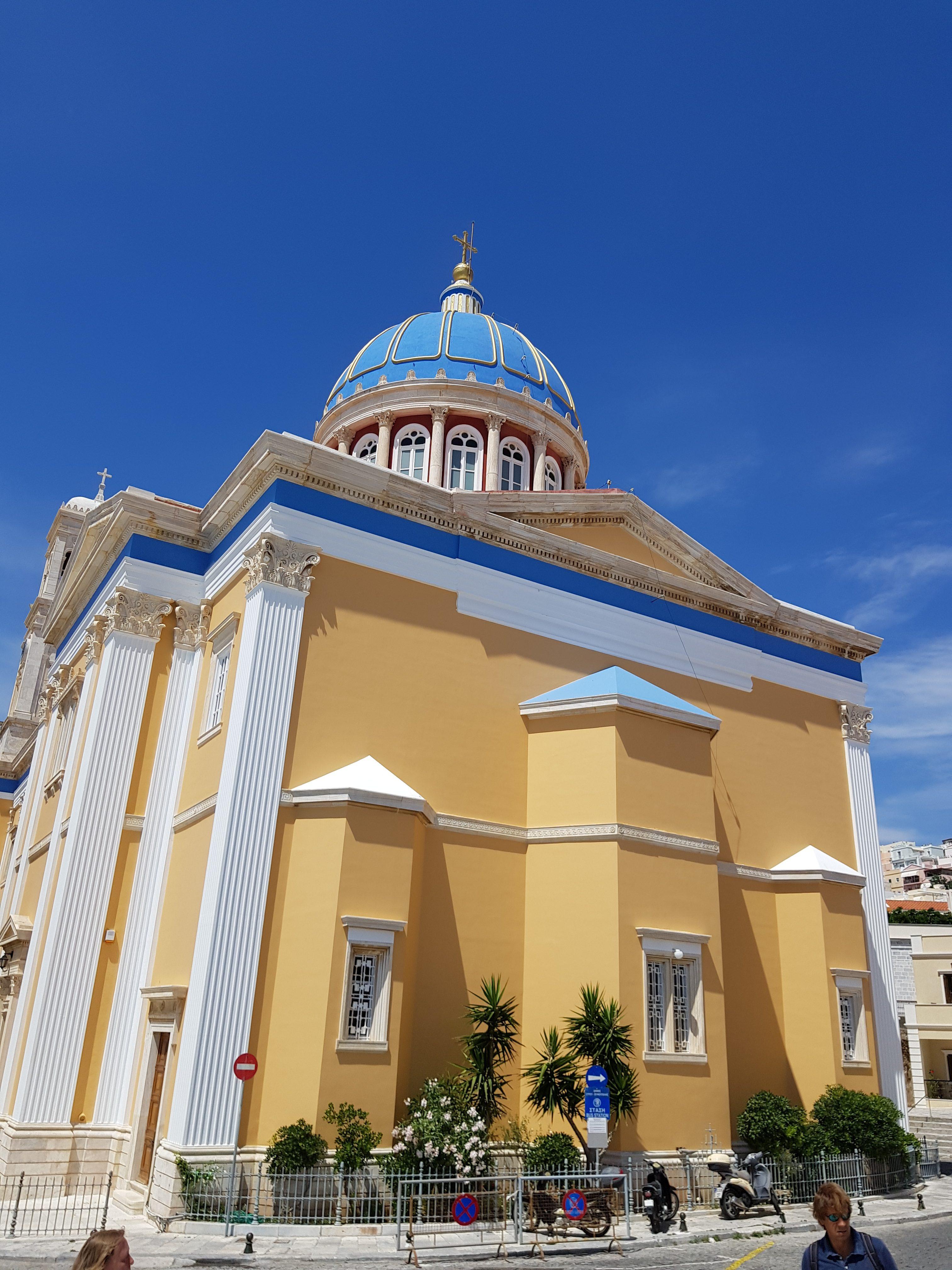 Greek Orthodox church of Saint Nicholas, Syros