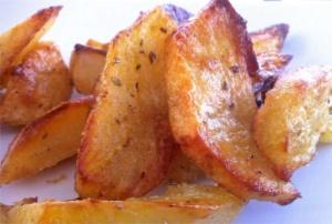 Crispiest Greek Lemon Potatoes