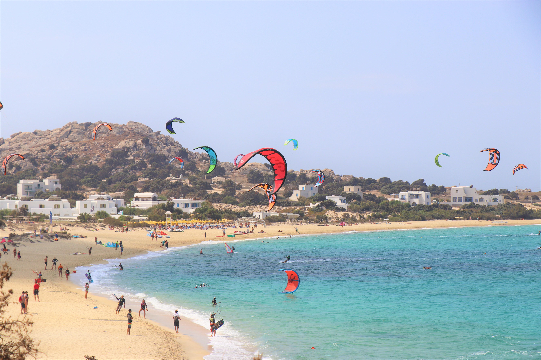 naxos wind surfing