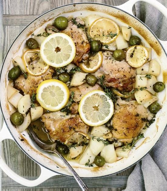 Greek Lemon-Garlic Chicken
